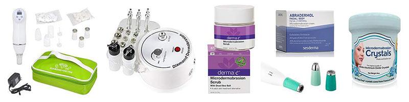 Tienda online de productos de microdermoabrasión
